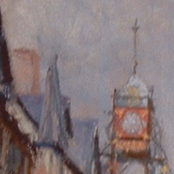 Detail of Eastgate In Summer by Steve Williamson