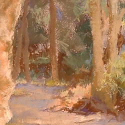 Detail of The Way Through The Woods by Steve Williamson